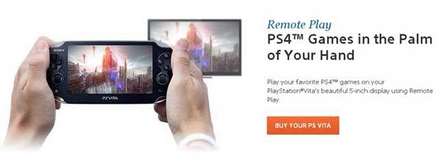 Vita Remote-Play in PS4 Spielen verpflichtend?