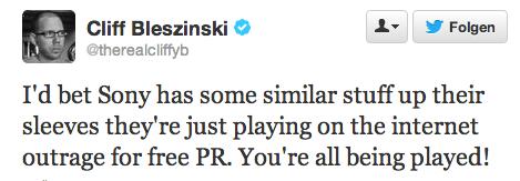 Cliff Bleszinski: Sony's Anti-DRM ein PR-Schachzug