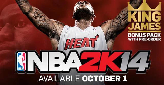 Take-Two in diesem Jahr mit NBA 2K15 und WWE 2K15