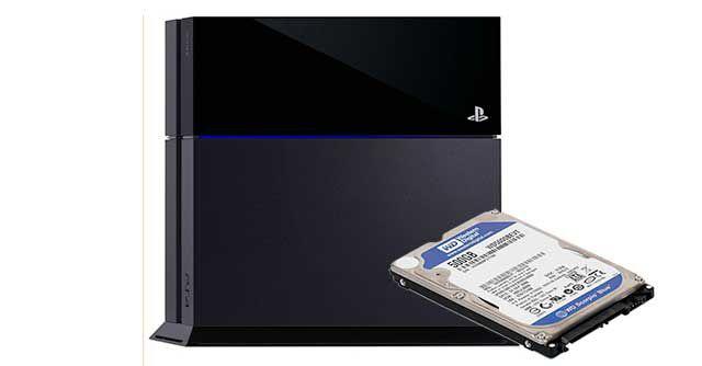 Infos zur internen Festplatte der PlayStation 4