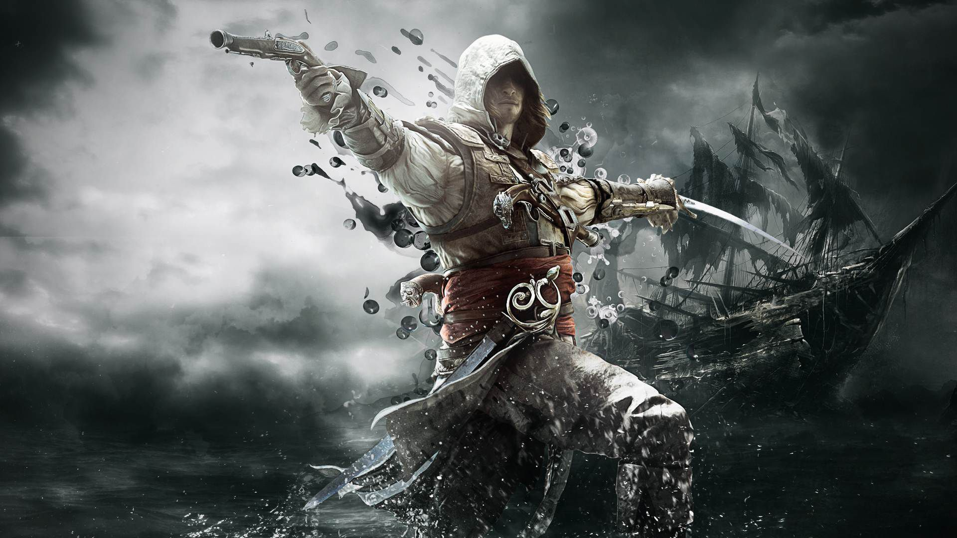 Assassin's Creed 4 900p vs. 1090p im Video