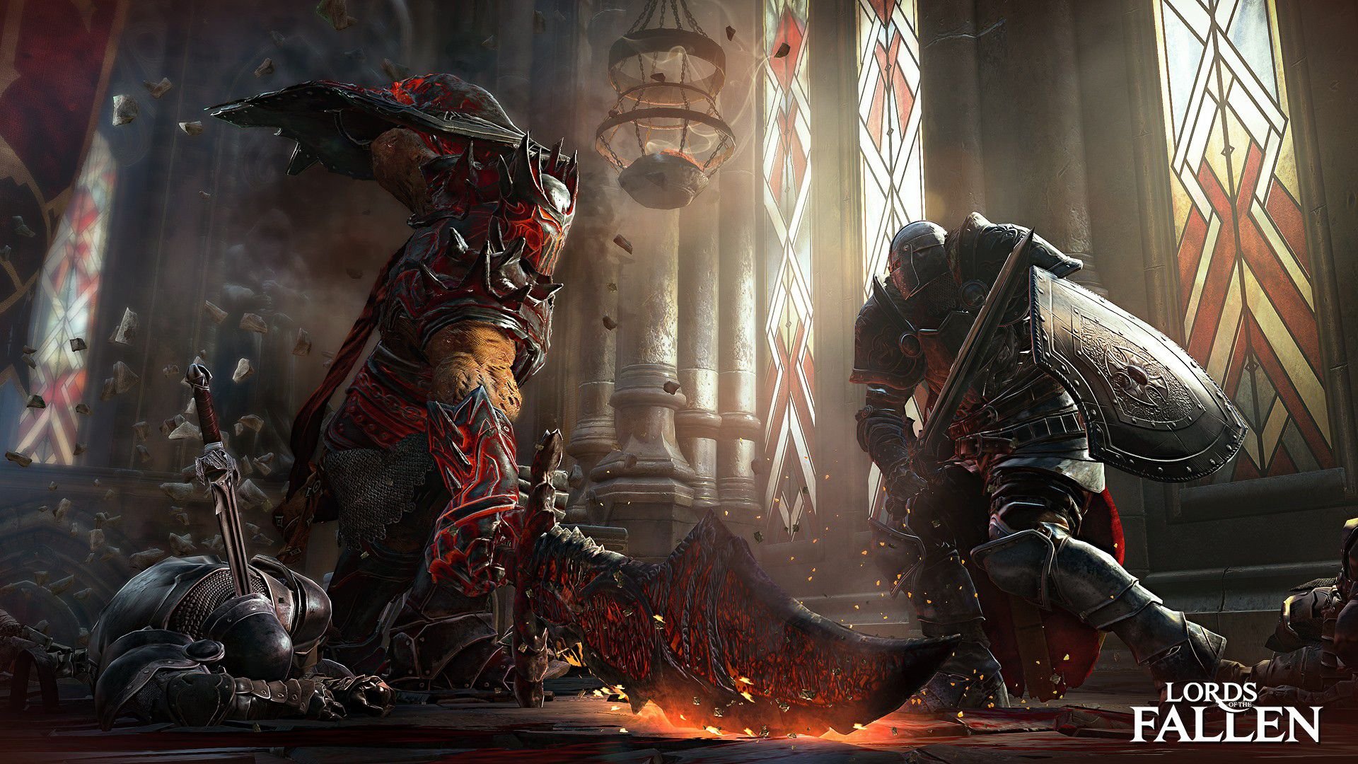 Lords of the Fallen Gameplay-Video mit Bosskampf