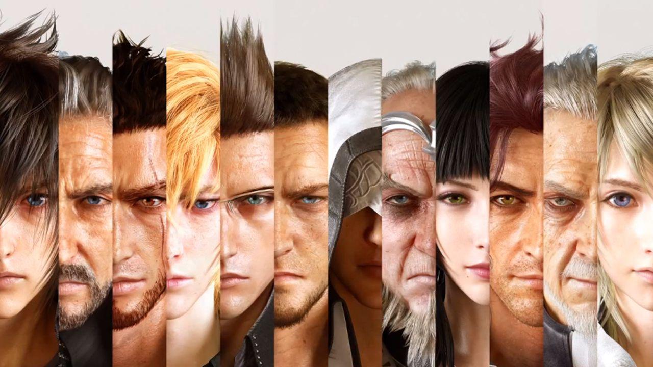 Final Fantasy XV Demo mit deaktivierten Share-Funktionen
