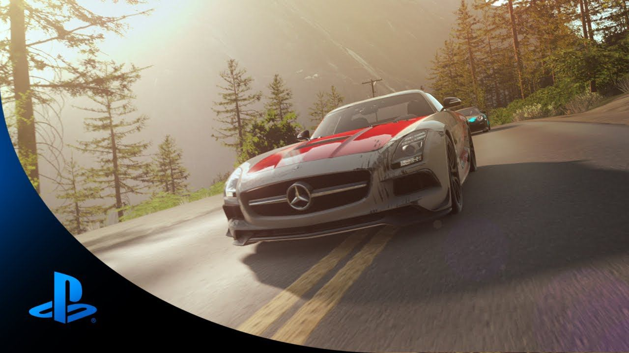 DriveClub Mercedes-Benz AMG Trailer