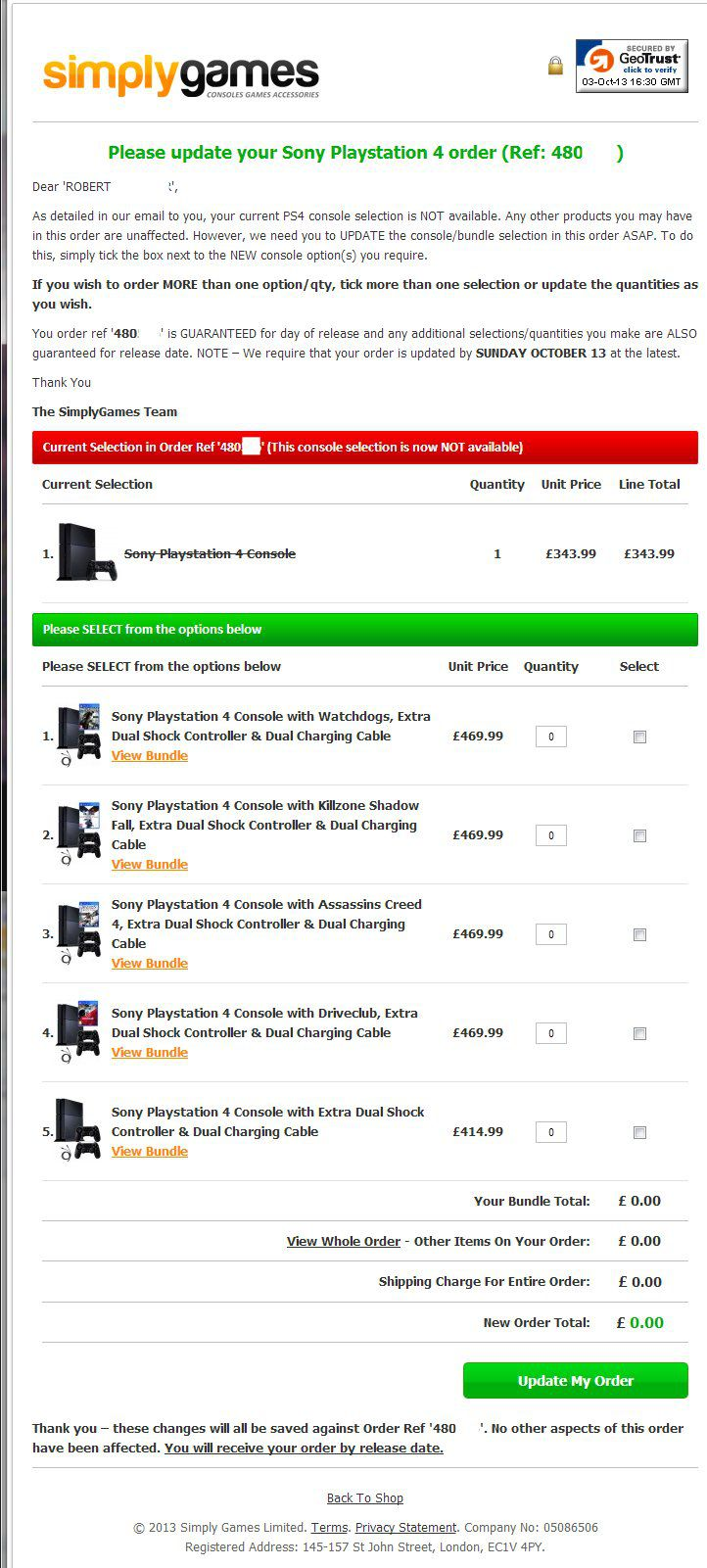 Britischer Online-Händler schnürt eigene PS4 Bundles und bittet zur Kasse