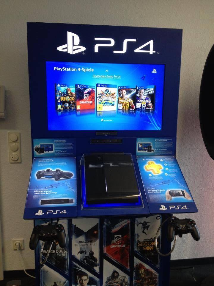 So sehen die fertigen PlayStation 4 Demo-Konsolen aus