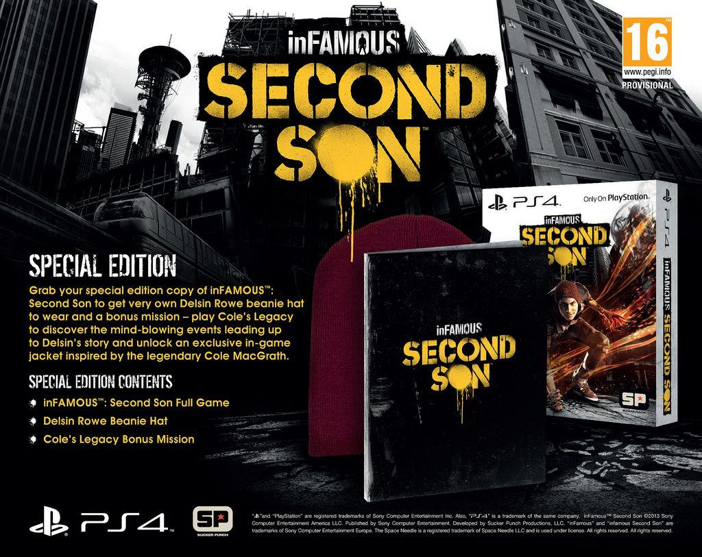 Special und Limited Edition von inFamous Second Son offiziell vorgestellt