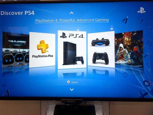 Bilder zeigen PS4 Demostand