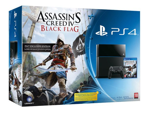 Ubisoft kündigt Assassin's Creed 4 PS4 Bundle an