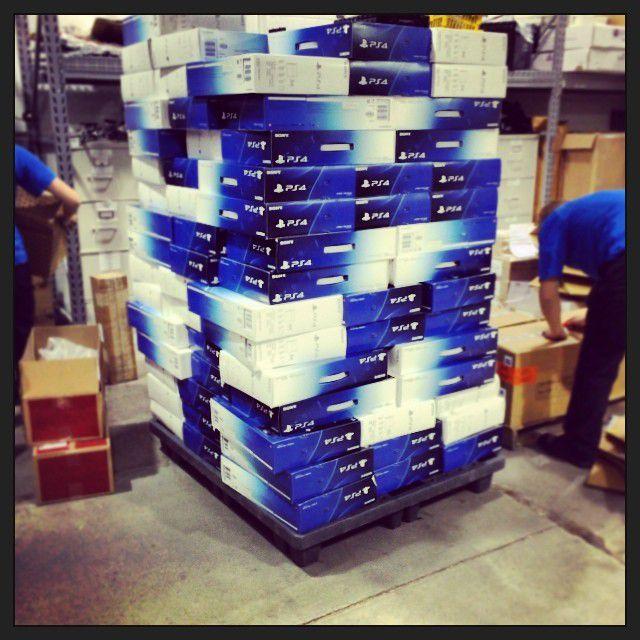 PlayStation 4 Verkauf in der Vorbereitung