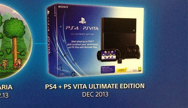 Erwartet uns nun doch ein PlayStation 4 PS Vita Bundle?