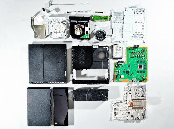 So sieht das Innenleben der PlayStation 4 aus