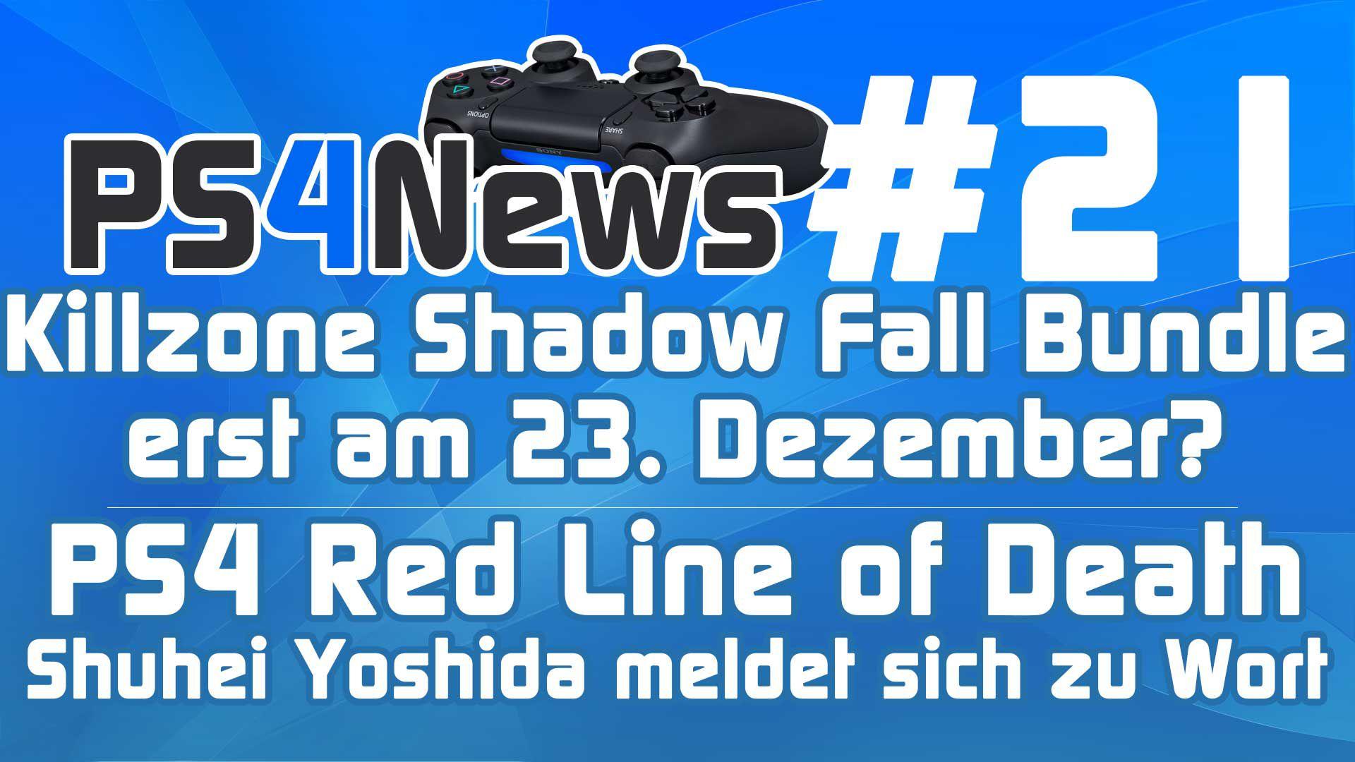 Killzone Shadow Fall Bundle erst am 23. Dezember? + Shuhei Yoshida spricht über die RLoD PS4 News