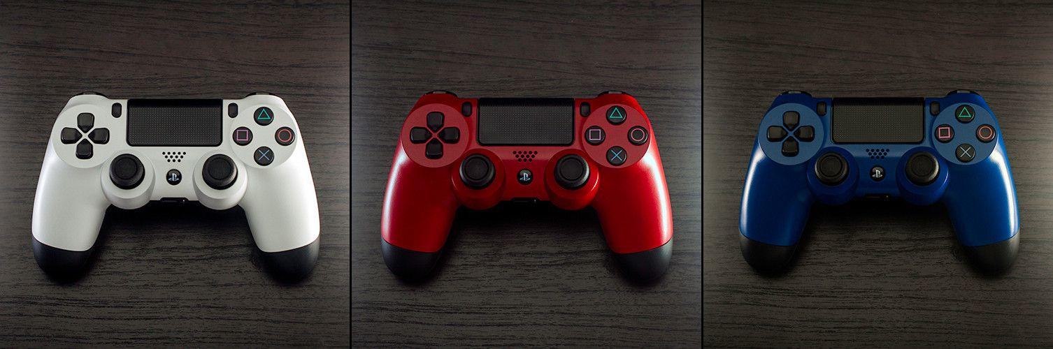 Umlackierte DualShock 4 Controller