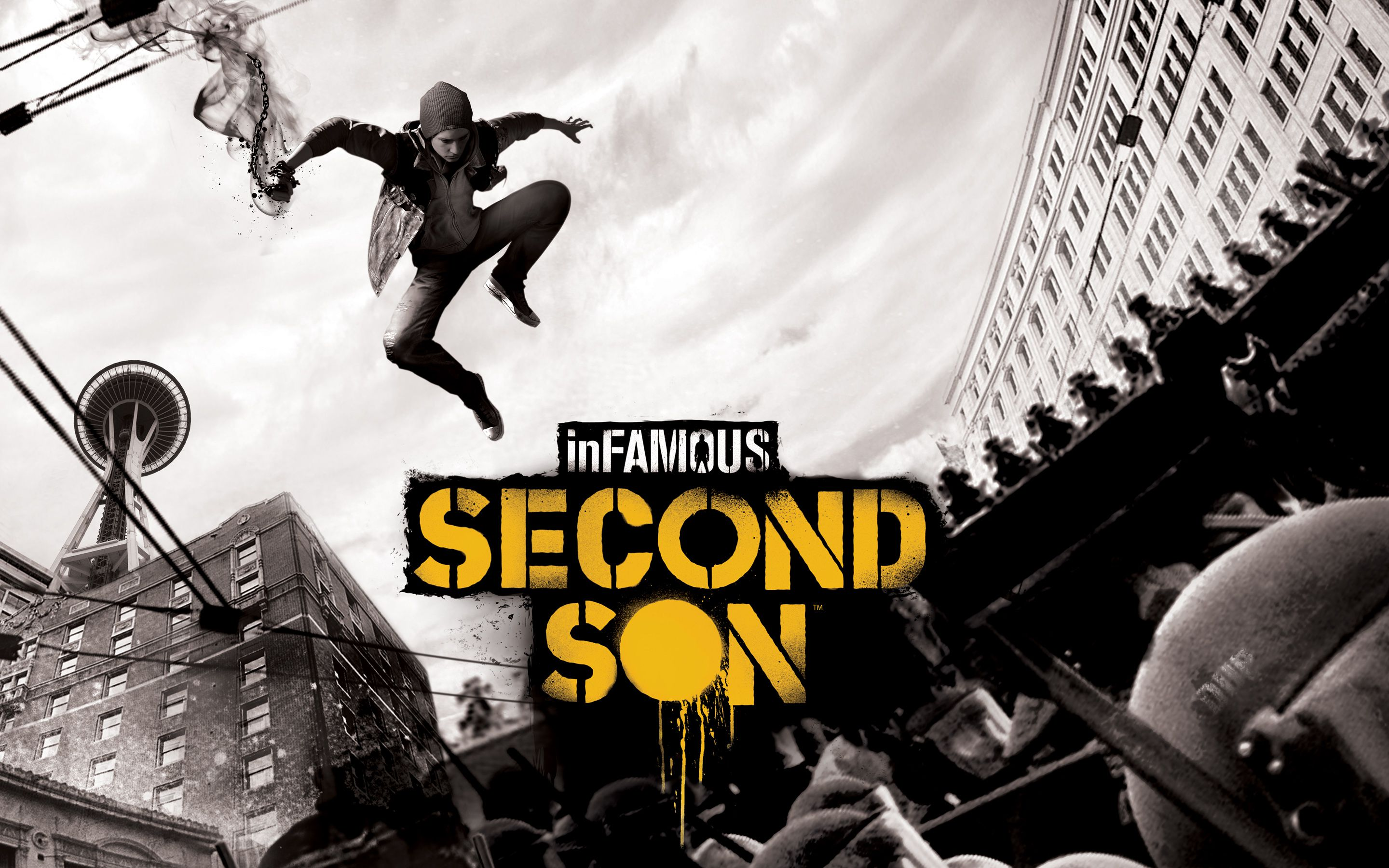 inFamous Second Son Physics-Glitch