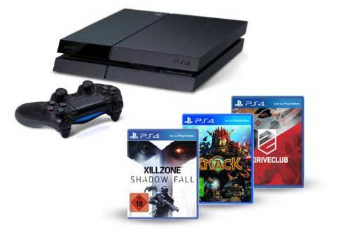 Amazon schnürt neues PlayStation 4 Softbundle mit Knack, Killzone und DriveClub