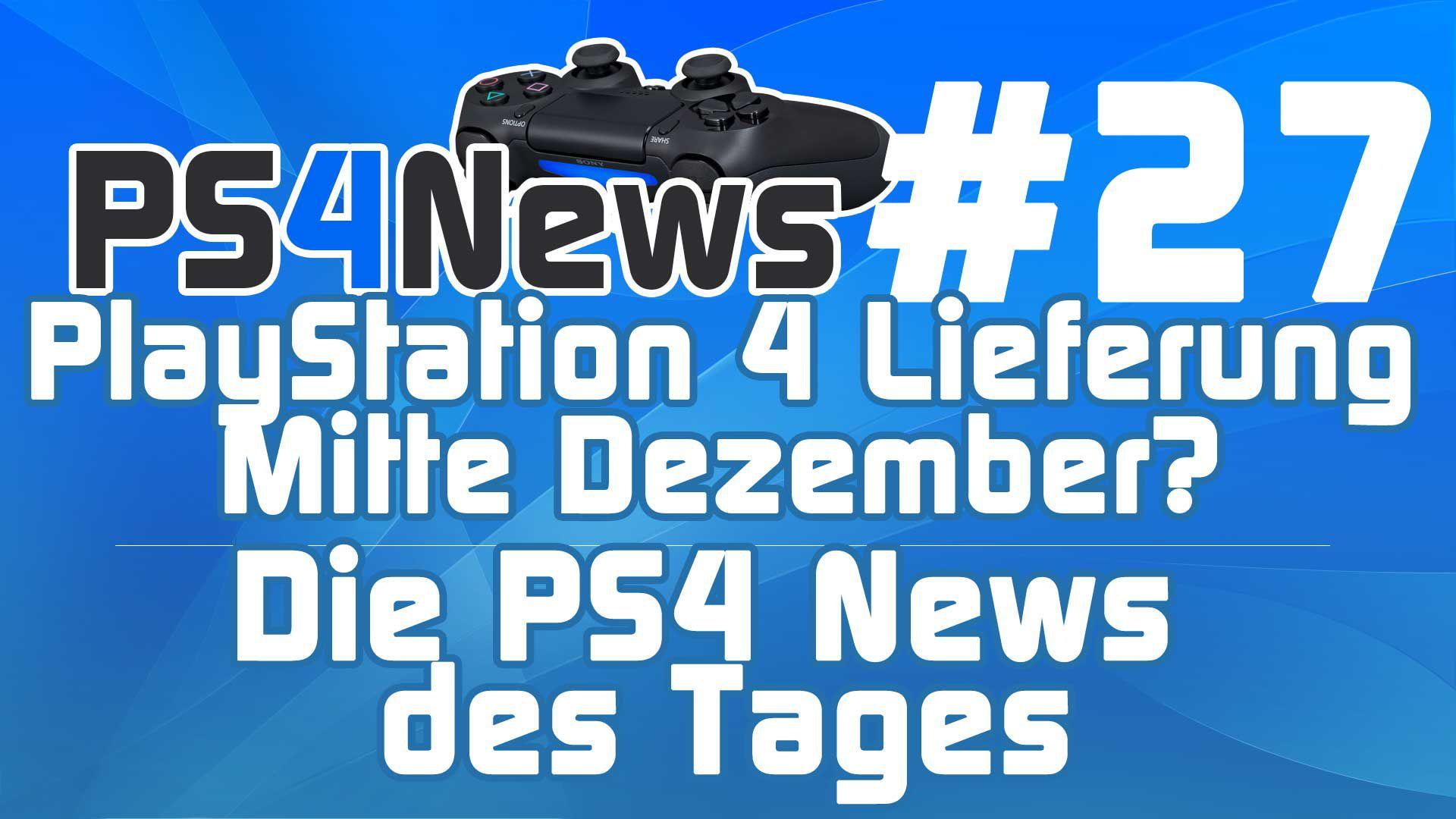 Neue PS4 Lieferung Mitte Dezember? GameStop schnürt teure PS4 Bundles uvm.