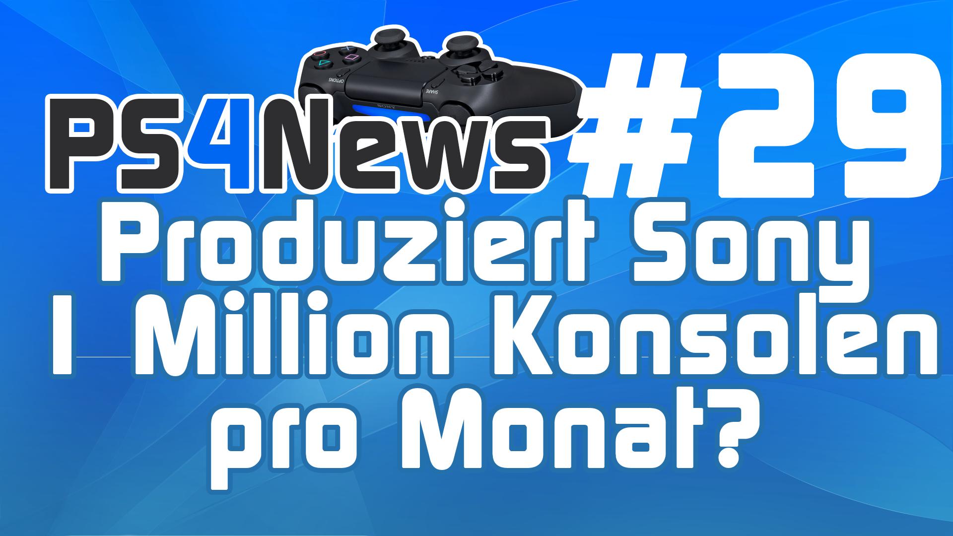 Produziert Sony 1 Million PS4 Konsolen pro Monat? Kommt DriveClub im Februar? PS4 News des Tages