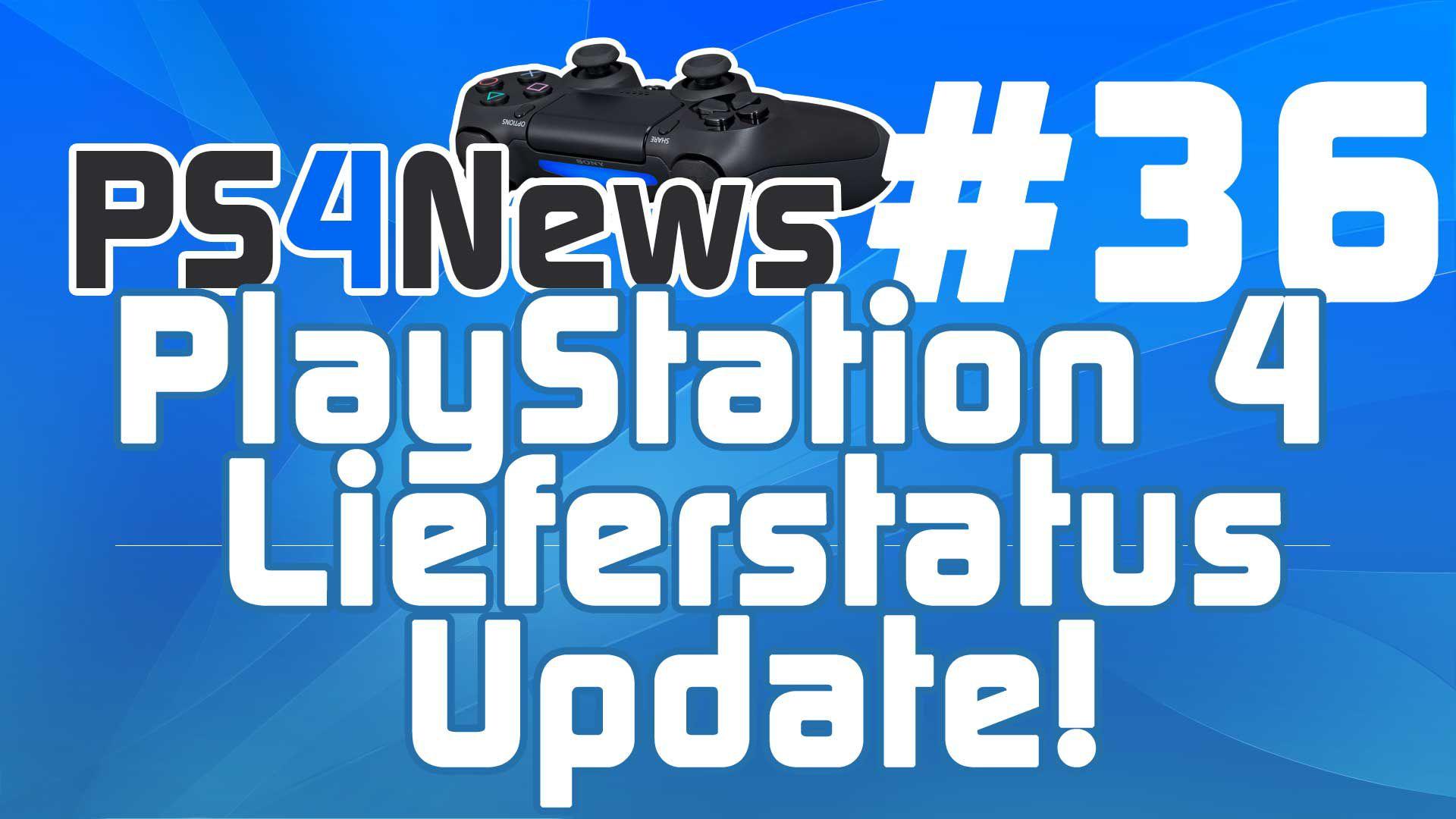 PlayStation 4 Lieferstatus Update inkl. Killzone Shadow Fall Bundle