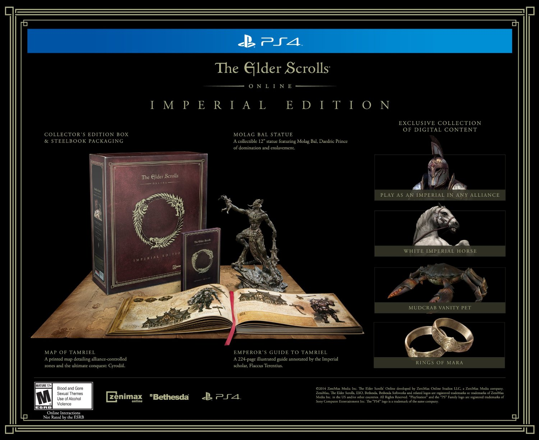 The Elder Scrolls Online Imperial Edition offiziell angekündigt