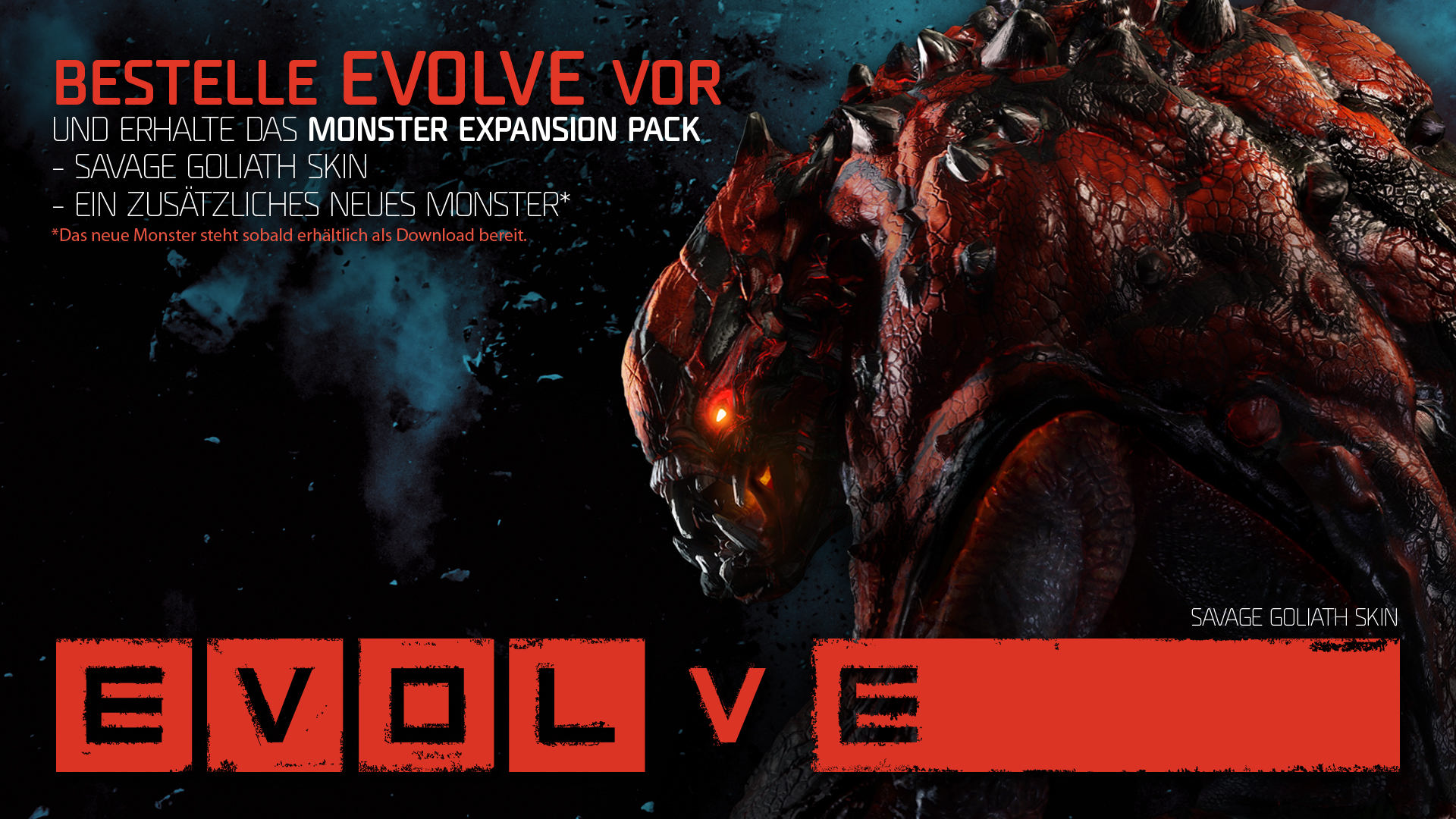 Vorbesteller-Boni und Packshot zu Evolve bekannt gegeben