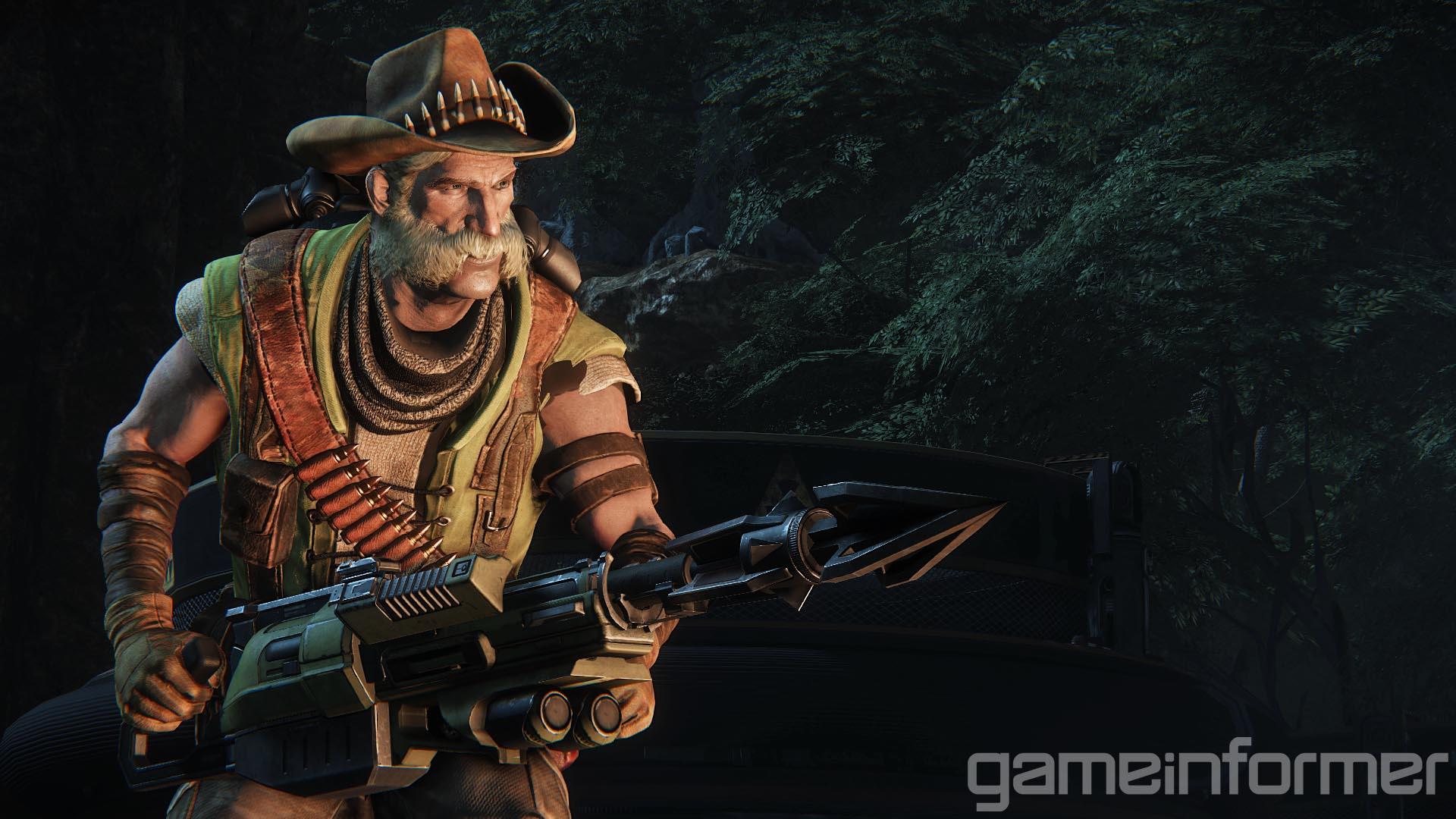 Evolve: Die Trapper-Klasse vorgestellt
