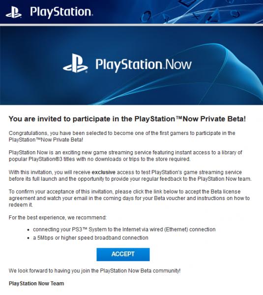 PlayStation Now: Sony verschickt erste Beta-Einladungen