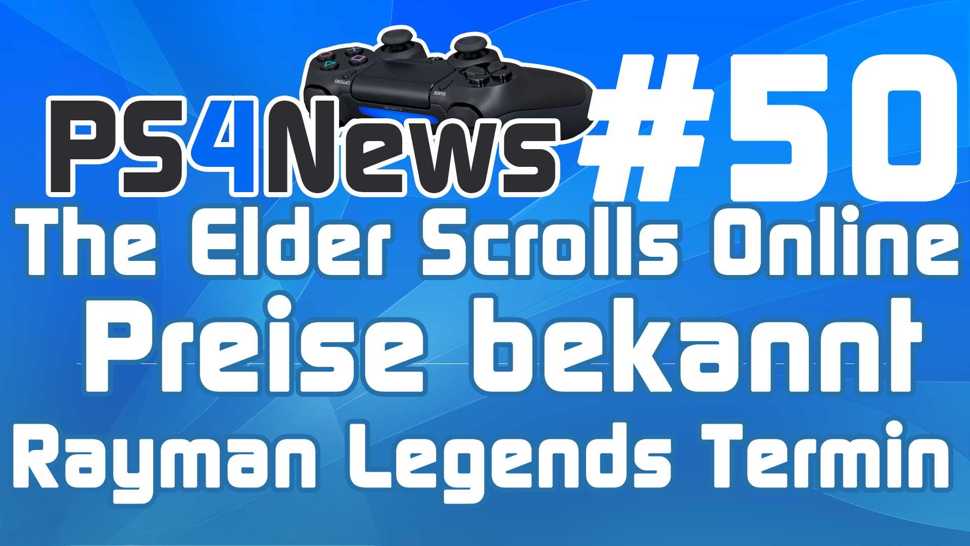 Erste Preise zu The Elder Scrolls Online – Rayman Legends PS4 Erscheinungstermin