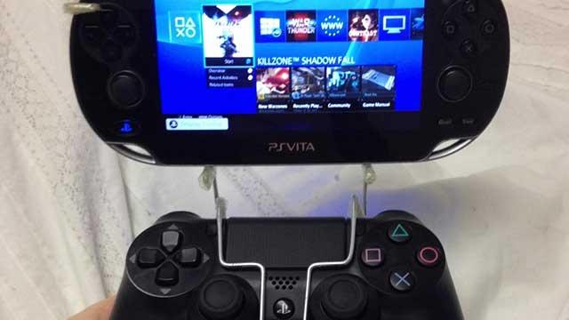 Selbstgemacht: Die PS Vita – DualShock 4 Remote Play Halterung
