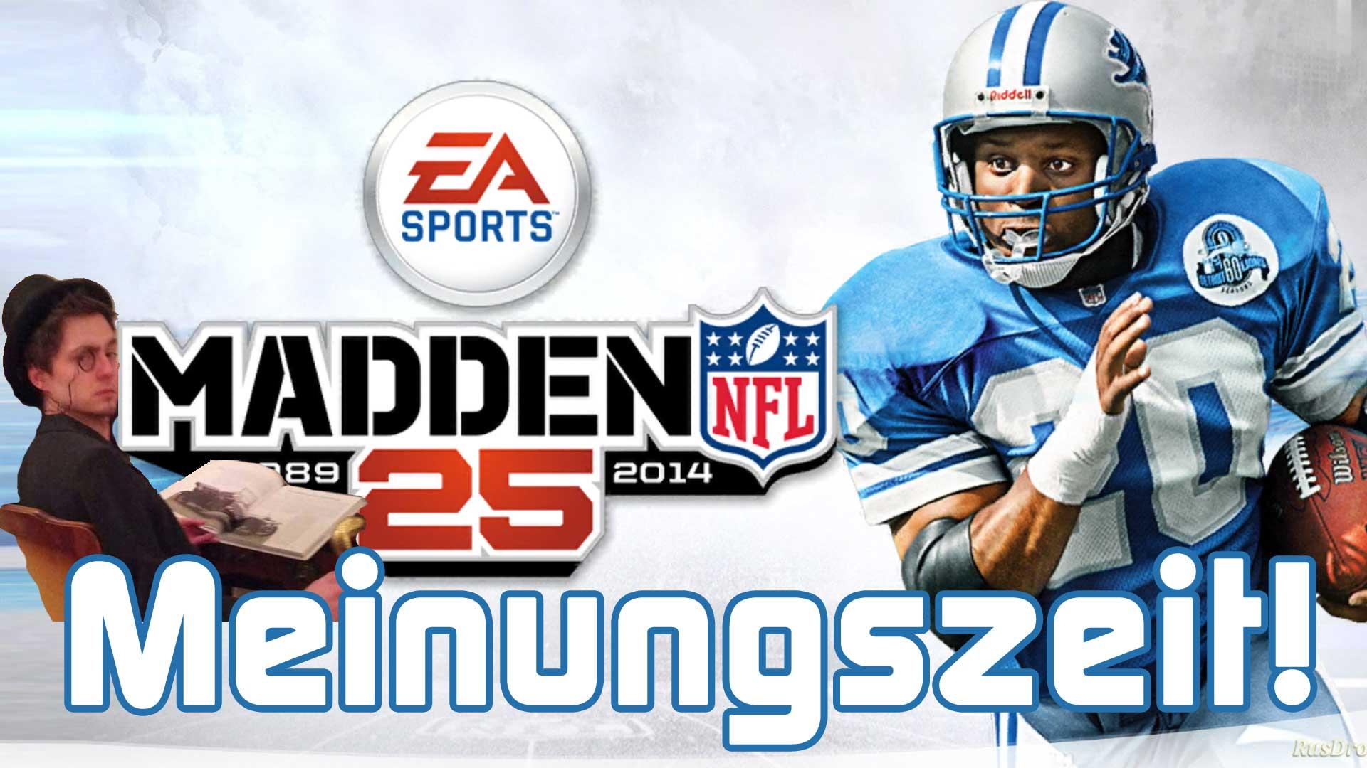 Meinungszeit!: Madden NFL 25 Test und Gameplay