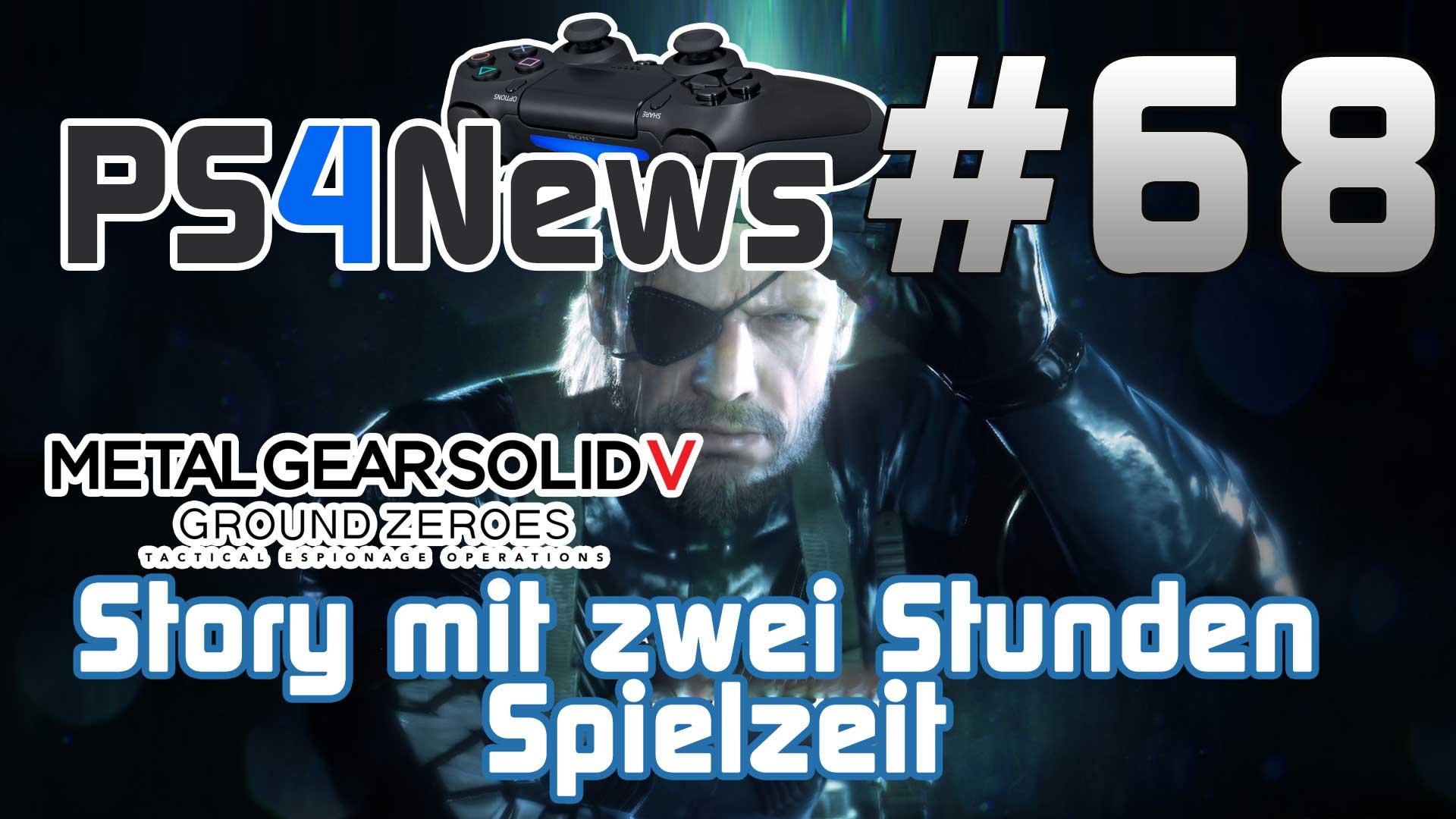 Metal Gear Solid 5 Ground Zeroes Story mit zwei Stunden Spielzeit
