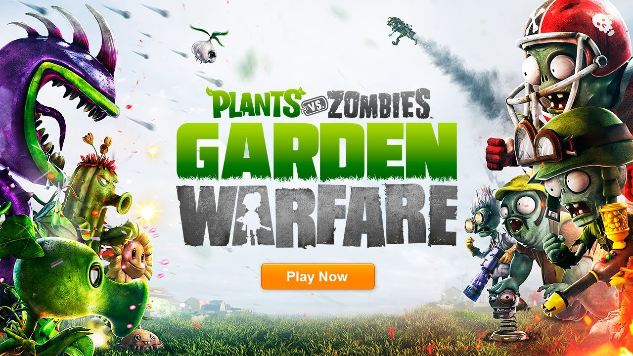 Plants vs. Zombies Garden Warfare Test