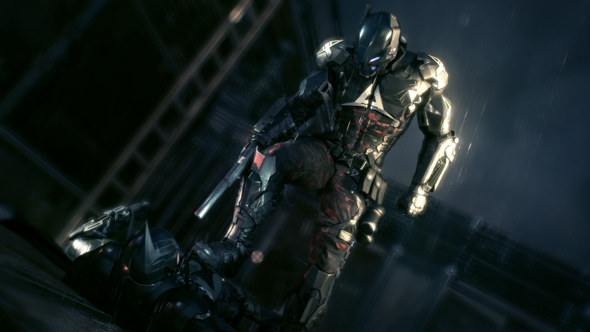 Batman Arkham Knight: Regen über Gotham City