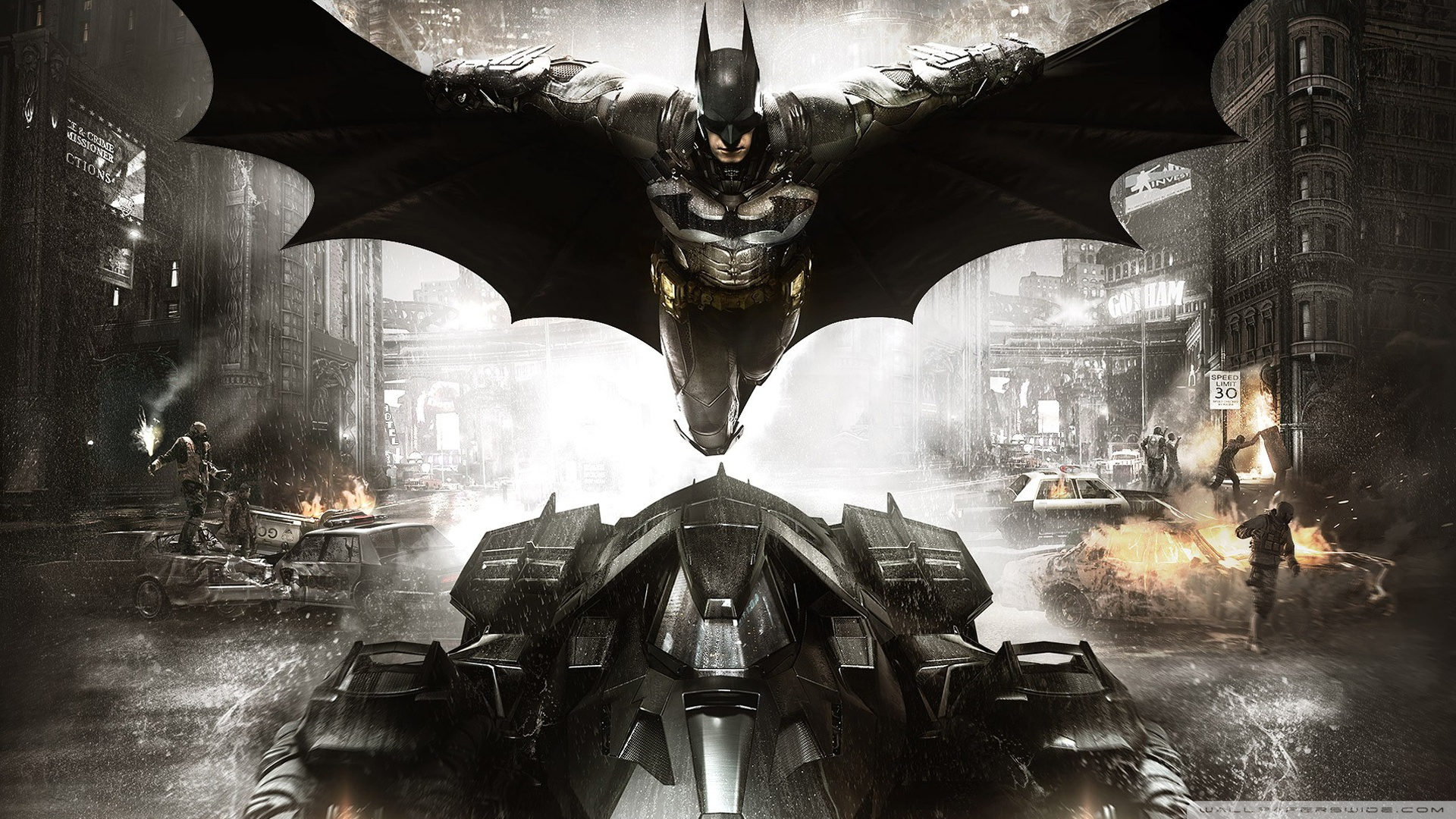 "Batman Arkham Knight im ""Evening the Odds""-Trailer"