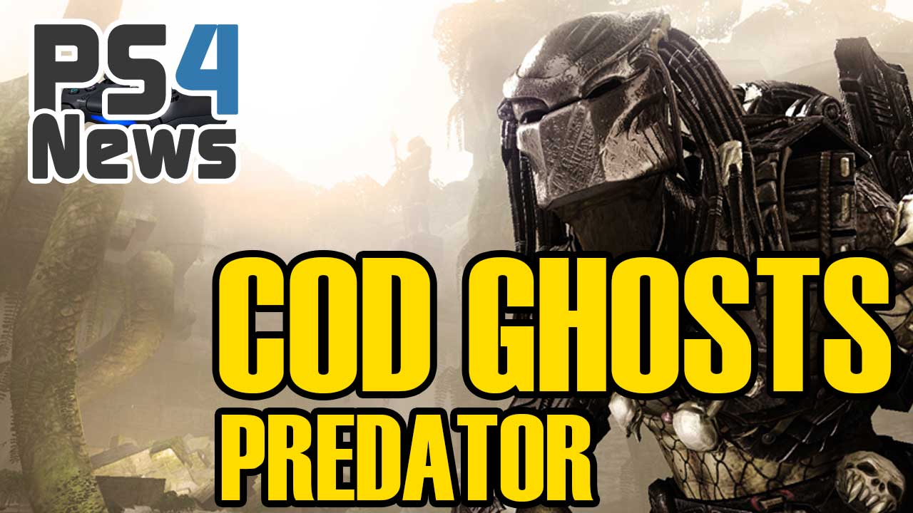 Als Predator im kommenden Call of Duty Ghosts DLC