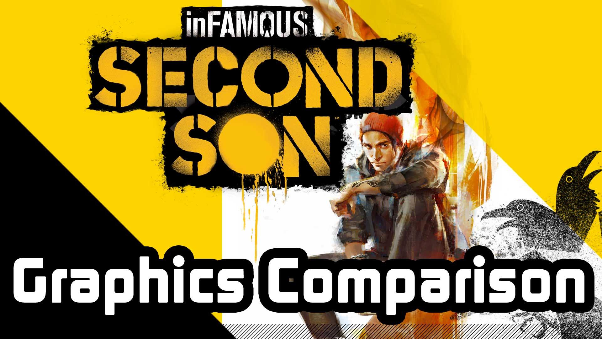 inFamous Second Son Grafikvergleich E3 2013 vs. fertige Version