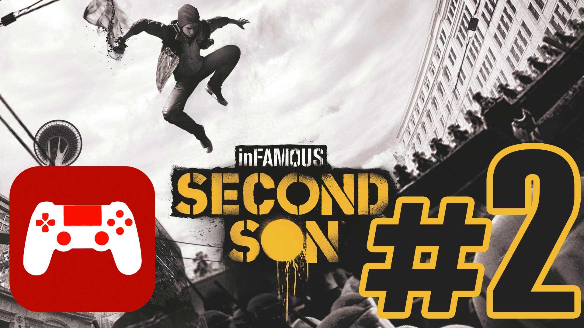 Let's Play inFamous Second Son #2 Der Raucher