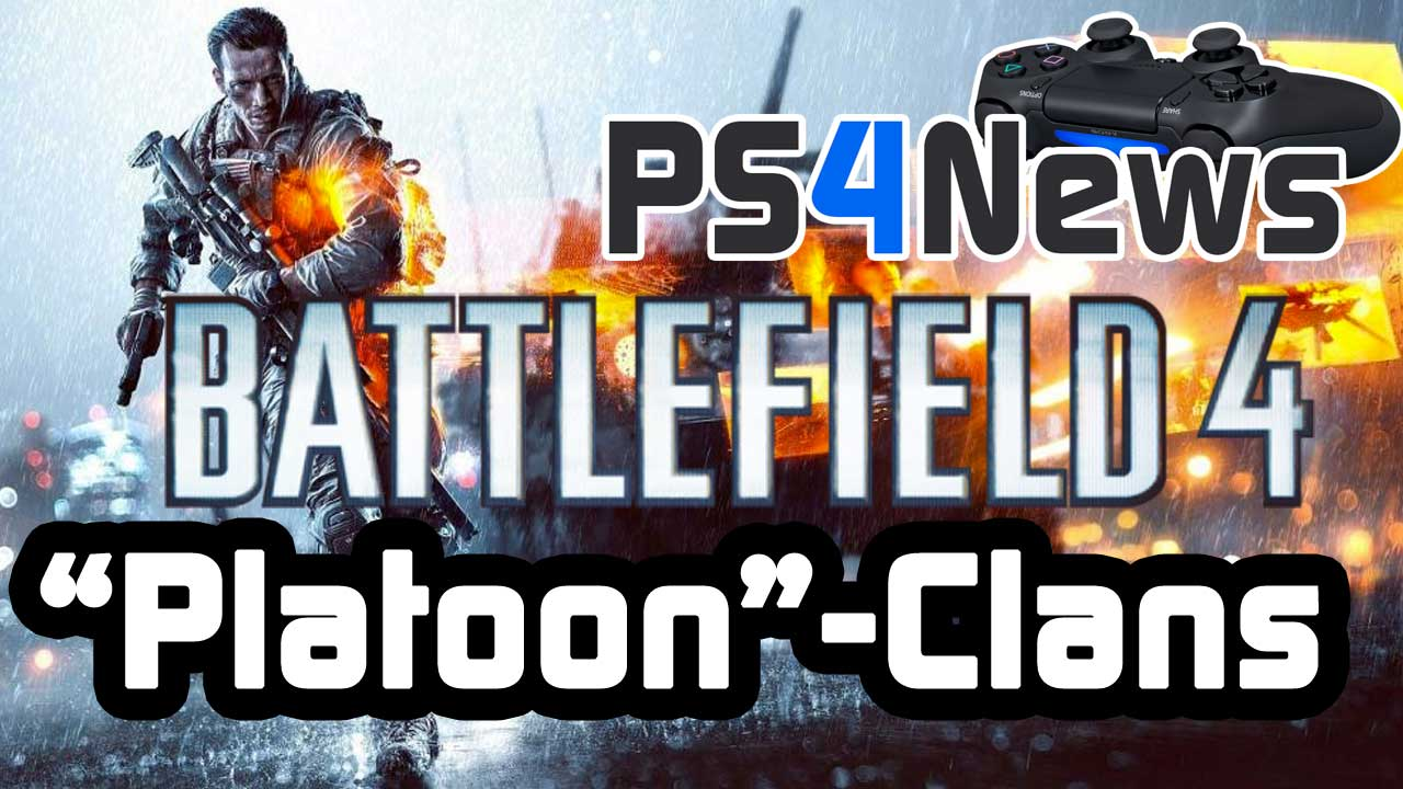 Call of Duty Ghosts Patch und Platoons als Clan-System in Battlefield 4
