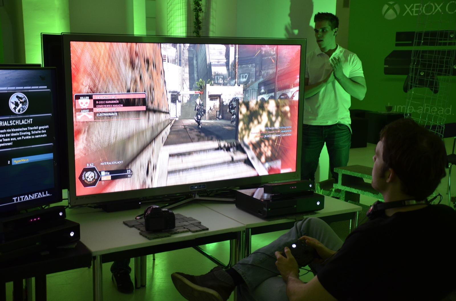 Electronic Arts testet Titanfall auf der PlayStation 4