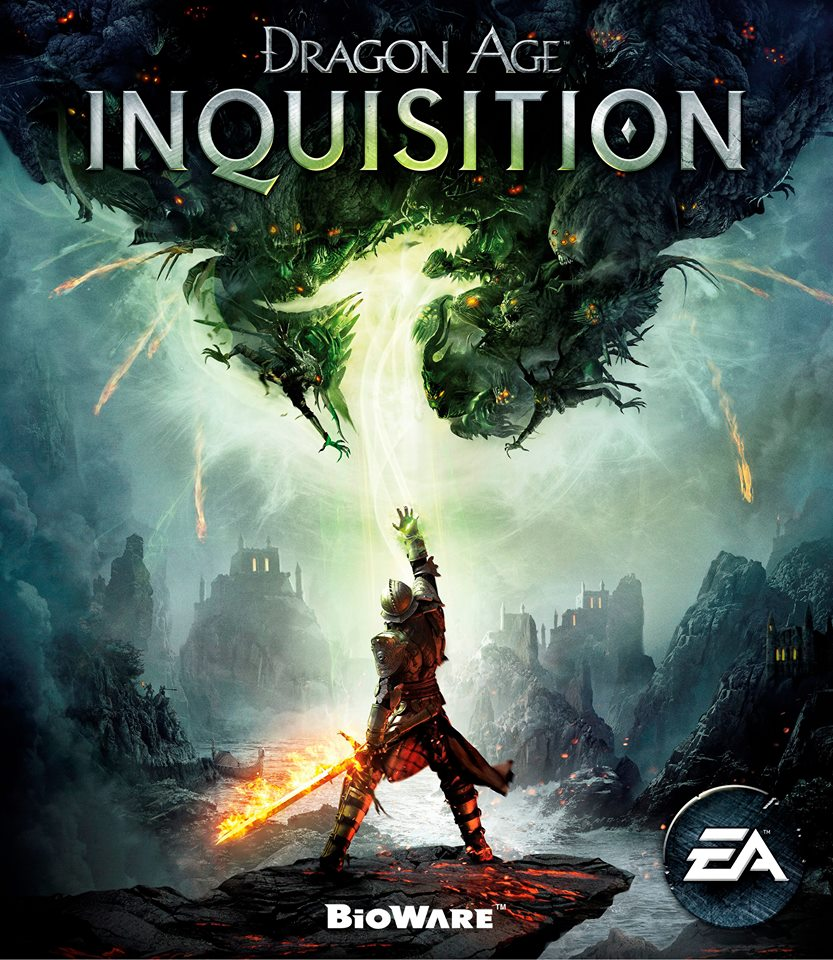 So sieht das Dragon Age Inquisition Boxart-Design aus