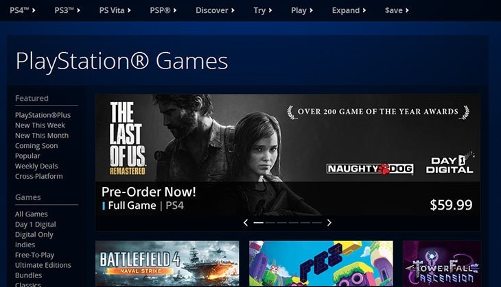 The Last of Us Werbebanner zur PlayStation 4 Version taucht im amerikanischen PlayStation Store auf