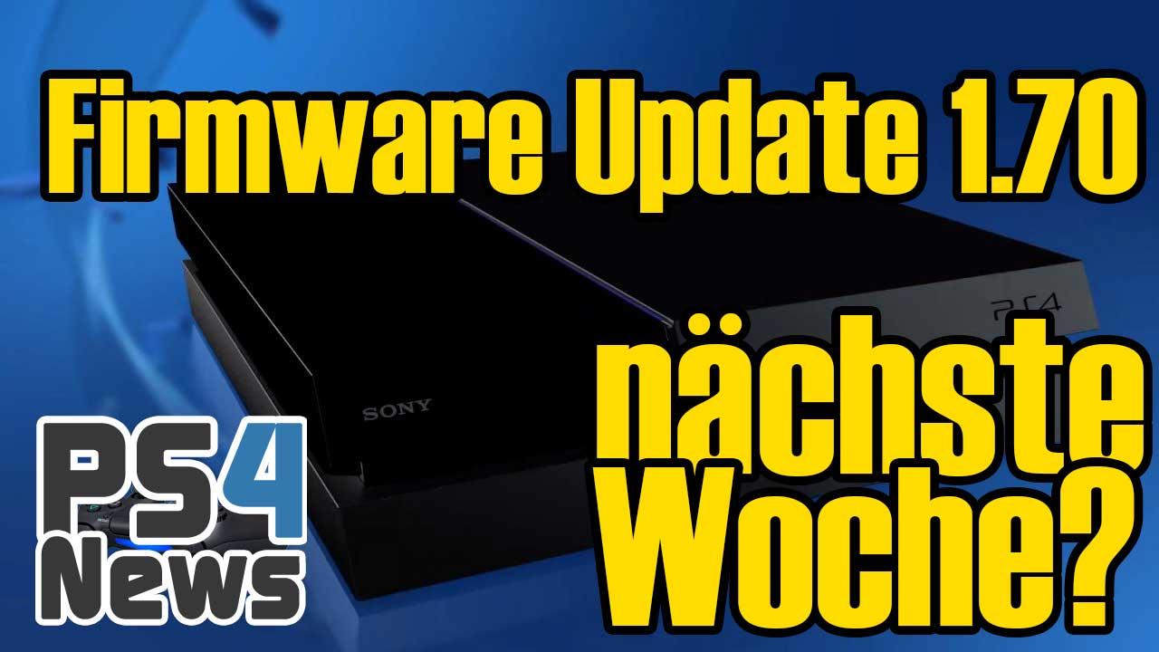 PlayStation 4 System Update 1.70 schon nächste Woche?