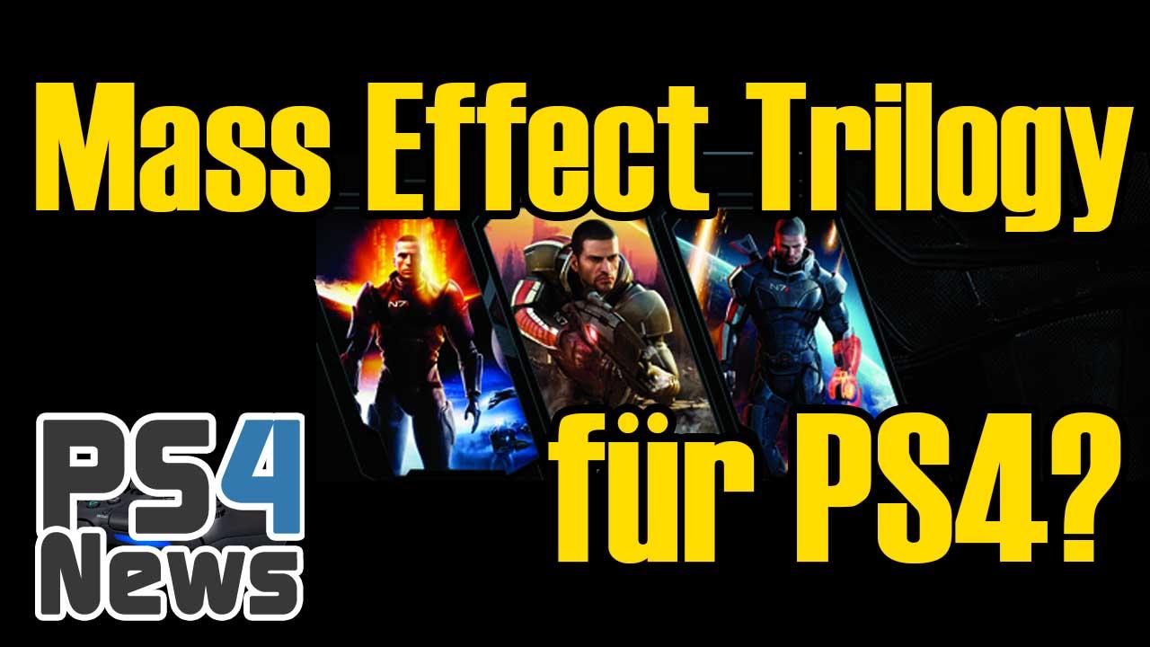 Kommt eine Mass Effect Trilogy für die PlayStation 4?