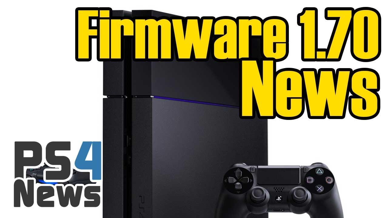 PlayStation 4 Firmware Update 1.70 für den 30. April bestätigt