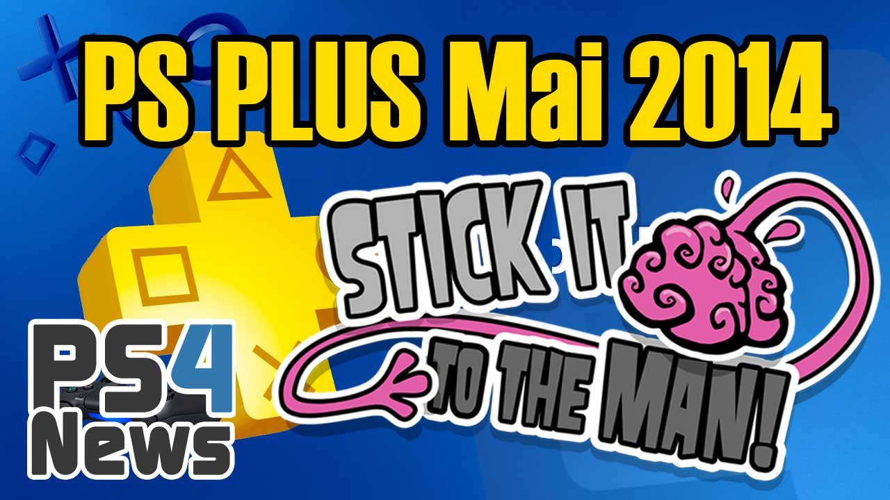 PlayStation Plus Neuheiten Mai 2014
