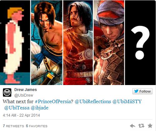 Wird ein neues 2D Prince of Persia bereits demnächst angekündigt?