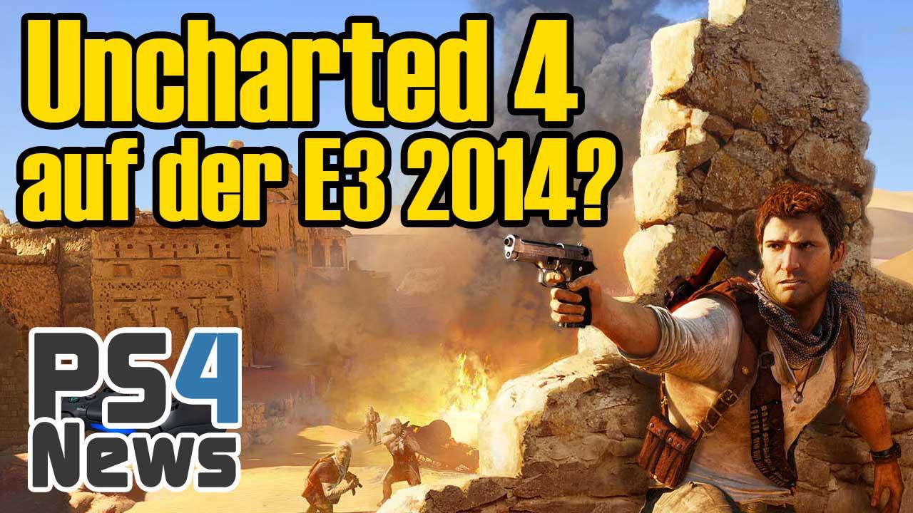 Erstes Gameplay Material zu Uncharted 4 auf der E3 2014?