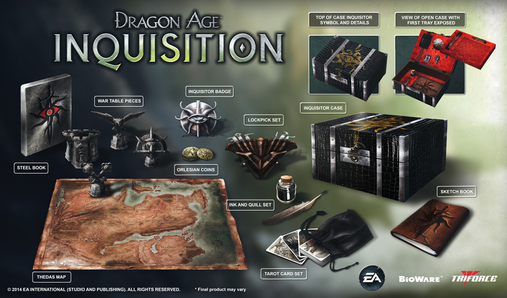 Die Dragon Age Inquisition Collector's Edition kostet 169,99 Euro