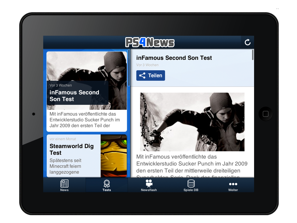 PS4NEWS.AT App für iOS verfügbar