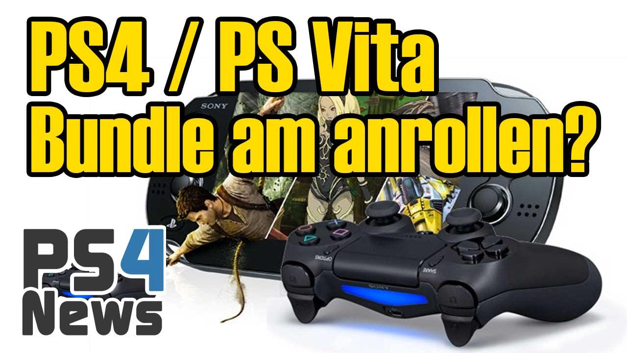 Erwartet uns nun doch ein PS4 / PS Vita Bundle?